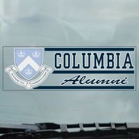 Columbia Lions Static Cling Decal