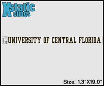 UCF Knights Static Cling Decal