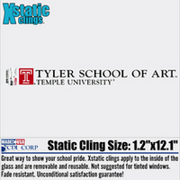 Tyler Static Cling Decal