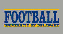 Delaware Blue Hens Football Decal