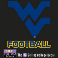 WVU Mountaineers Sports Decal