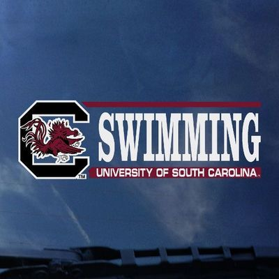 South Carolina Gamecocks CDI Football Decal