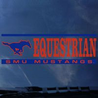 SMU Mustangs CDI Football Decal