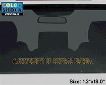 UCF Knights Color Shock Strip Decal