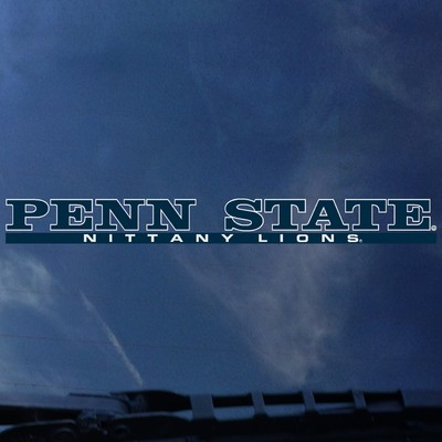 Penn State Nittany Lions Color Shock Strip Decal