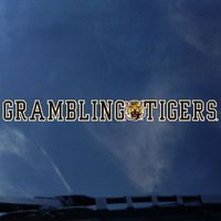 Grambling State Tigers Color Shock Strip Decal