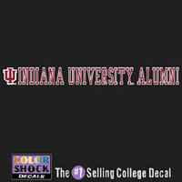 Indiana Hoosiers Color Shock Strip Decal