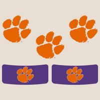 Clemson Tigers Color Shock Mascot Decal