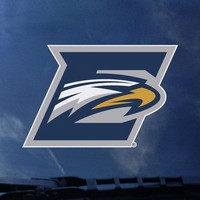 Emory Eagles Color Shock Mascot Decal