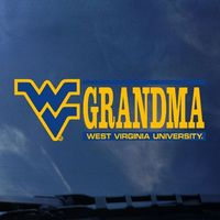 WVU Mountaineers Color Shock Mascot Decal