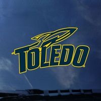 University of Toledo Color Shock Mascot Decal