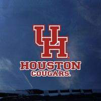 Houston Cougars Color Shock Mascot Decal