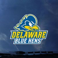 Delaware Blue Hens Color Shock Mascot Decal