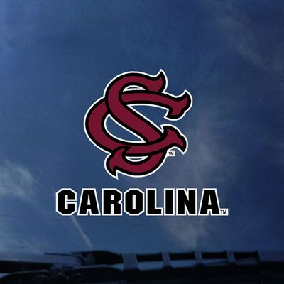 South Carolina Gamecocks Color Shock Wordmark Decal