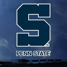 Penn State Nittany Lions Color Shock Wordmark Decal