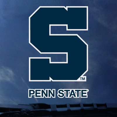 Penn State University Park Book Nittany Lions Color Shock Wordmark Decal