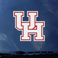 Houston Cougars Color Shock Wordmark Decal