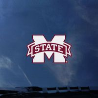 Mississippi State Bulldogs Color Shock Wordmark Decal