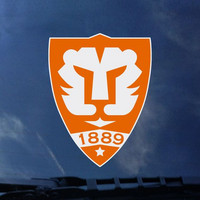 Clemson Tigers Color Shock Seal Decal