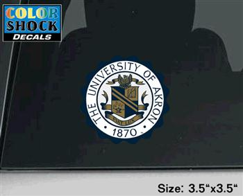 Color Shock Seal Decal