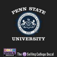 Penn State Nittany Lions Color Shock Seal Decal
