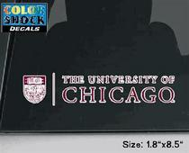 University of Chicago Color Shock Seal Decal