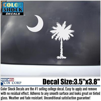 South Carolina Gamecocks Color Shock Seal Decal