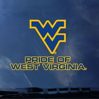 WVU Mountaineers Color Shock Seal Decal