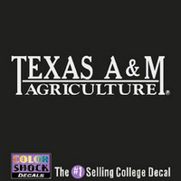 Texas A&M Aggies Color Shock Seal Decal