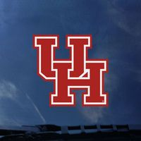 Houston Cougars Color Shock Seal Decal