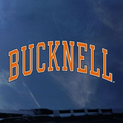 Bucknell Color Shock School Name Decal