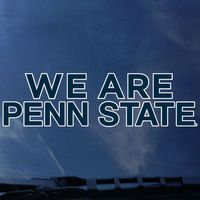 Penn State Nittany Lions Color Shock School Name Decal