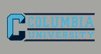 Columbia University Color Shock School Name Decal