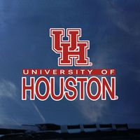 Houston Cougars Color Shock School Name Decal