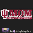 Indiana Hoosiers Colorshock Decal