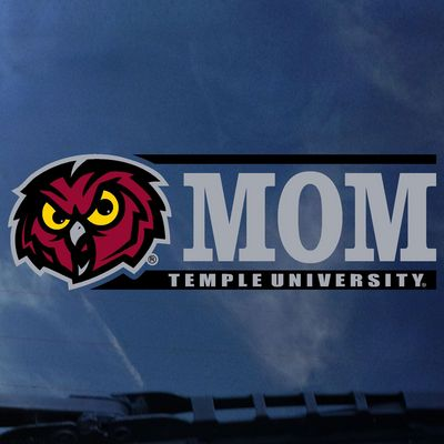 Temple Colorshock Decal