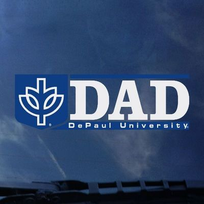 DePaul Colorshock Decal
