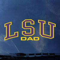 LSU Tigers Colorshock Decal
