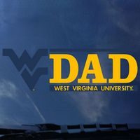 WVU Mountaineers Colorshock Decal