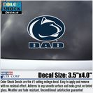 Penn State Nittany Lions Colorshock Decal