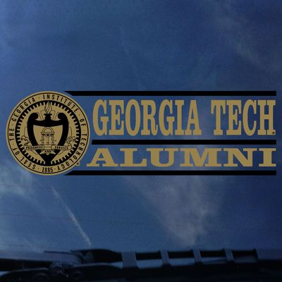 Georgia Tech Colorshock Alumni Decal