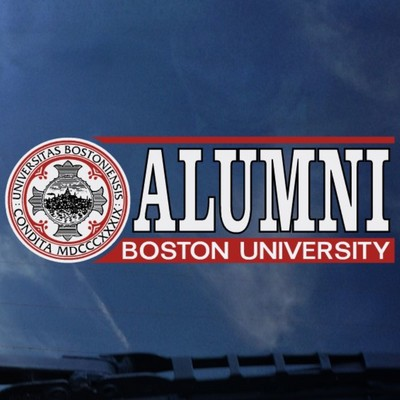Boston Terriers Colorshock Alumni Decal