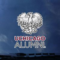 University of Chicago Colorshock Alumni Decal