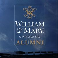 William and Mary Colorshock Alumni Decal