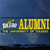 University of Toledo Colorshock Alumni Decal