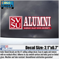 Colorshock Alumni Decal