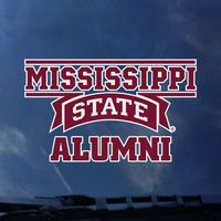Mississippi State Bulldogs Colorshock Alumni Decal