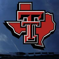 Texas Tech Red Raiders Oversized ColorShock decal