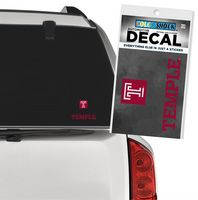 Temple Color Shock Mascot Decal