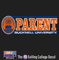 Bucknell Colorshock Decal